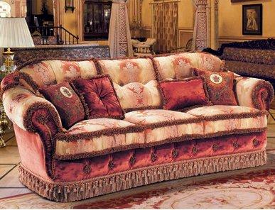 Итальянская мягкая мебель BELLAGIO LOUVRE фабрики EGIDIO LUNARDELLI