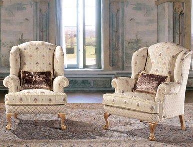 Итальянское кресло QUEEN фабрики EGIDIO LUNARDELLI