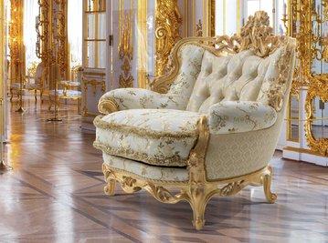 Итальянское кресло REALE LIBERTY фабрики EGIDIO LUNARDELLI