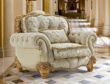 Итальянское кресло REALE ETOILE фабрики EGIDIO LUNARDELLI