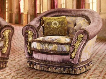 Итальянское кресло VANITY фабрики EGIDIO LUNARDELLI
