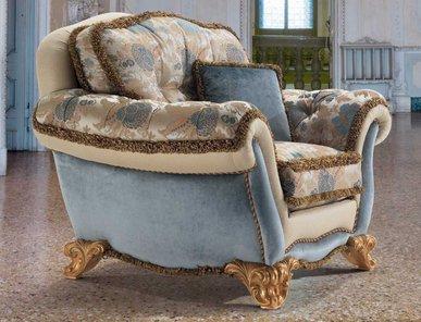 Итальянское кресло VILLA BORGESE MILORD фабрики EGIDIO LUNARDELLI