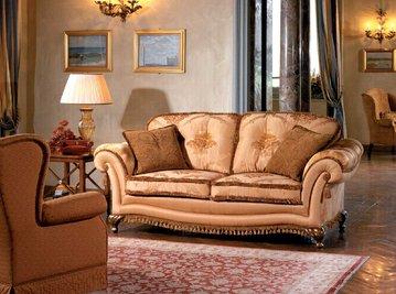 Итальянская мягкая мебель VILLA BORROMEO GINEVRA фабрики EGIDIO LUNARDELLI