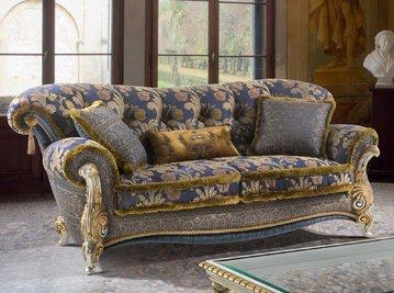 Итальянская мягкая мебель VILLA CONTARINI HERMITAGE фабрики EGIDIO LUNARDELLI
