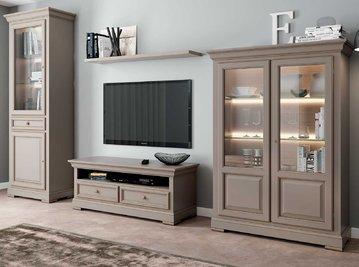 Итальянская мебель для ТВ CONSTANTIA фабрики SELVA TIMELESS