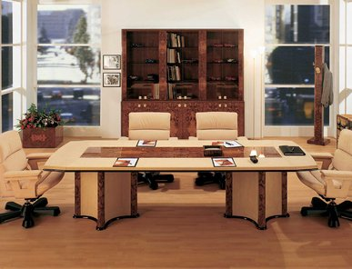 Итальянский стол для переговоров ORION фабрики R.A. MOBILI S.P.A.
