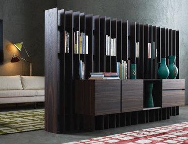 Итальянский книжный шкаф SIPARIO фабрики EMMEMOBILI