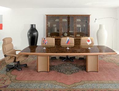 Итальянский стол для переговоров SUPREMA фабрики R.A. MOBILI S.P.A.