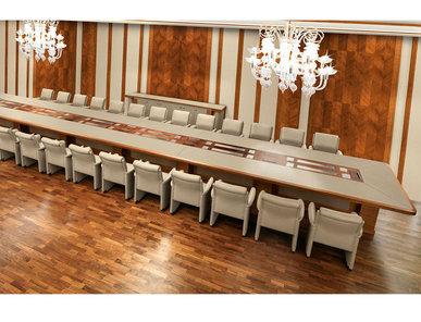 Итальянский стол для переговоров GIUBILEO фабрики MASCHERONI