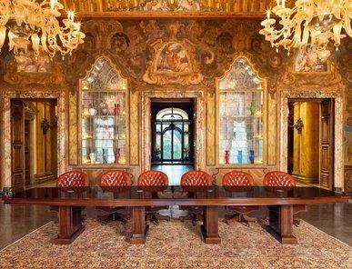 Итальянский стол для переговоров AD фабрики MASCHERONI