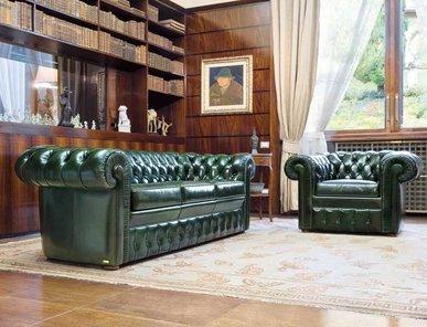 Итальянская мягкая мебель LANCASTER фабрики MASCHERONI