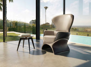 Итальянское кресло BARBABLU фабрики MASCHERONI