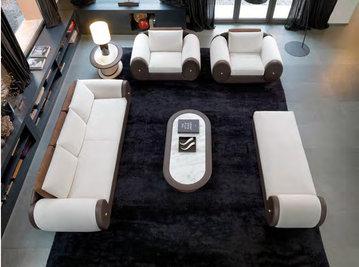 Итальянская мягкая мебель RICCIARELLI фабрики MASCHERONI