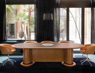 Итальянский стол для переговоров ELLISSE GOLDEN BRICK фабрики MASCHERON