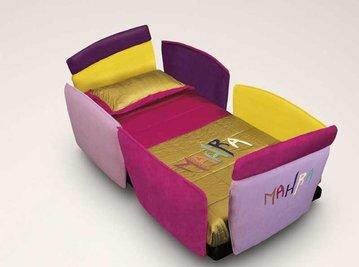 Итальянская детская кровать AURORA 01 фабрики IL LOFT