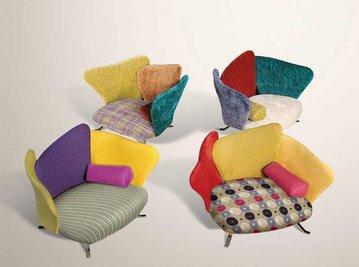 Итальянское кресло FLOWER BABY фабрики IL LOFT