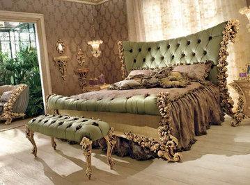 Итальянская кровать BOUQET 9008 фабрики RIVA