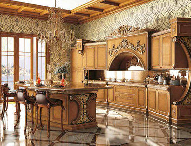 Итальянская кухня RAFFLES фабрики RIVA