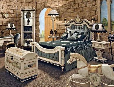 Итальянская кровать KING ARTUR 7600 фабрики RIVA