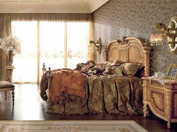 Итальянская кровать HERMITAGE 4007/SK фабрики RIVA