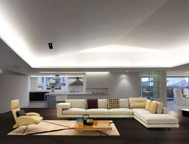 Итальянский диван MERCURY SOFT Silver Label фабрики IL LOFT