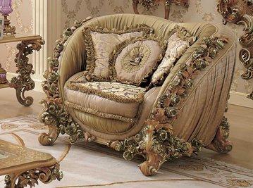 Итальянское кресло BOUQET 9161 фабрики RIVA