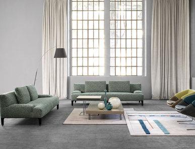 Итальянский диван DELTA WOOD 01 2015 фабрики IL LOFT