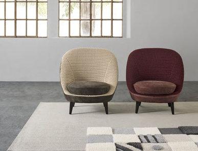 Итальянское кресло LYSA 2015 фабрики IL LOFT