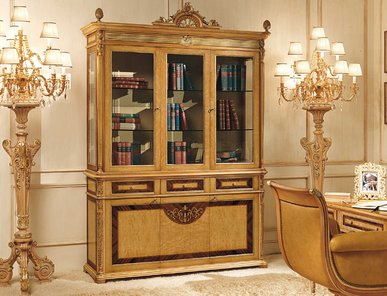 Итальянский книжный шкаф DIRETTORIO 1520 фабрики RIVA