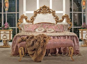 Итальянская кровать MILANO 2017 2907/M фабрики RIVA