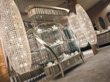 Итальянская витрина WAVES 1AR062 фабрики RIVA ATELIER
