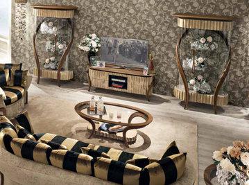 Итальянская мебель для ТВ WAVES фабрики RIVA ATELIER