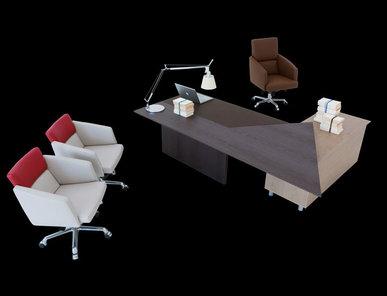 Итальянский письменный стол Accademia Scrivania фабрики IL LOF