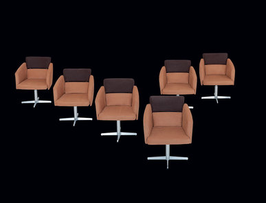Итальянское кресло Adam Poltroncina фабрики IL LOF