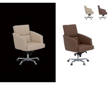 Итальянское кресло Adam Poltrona Ufficio фабрики IL LOF