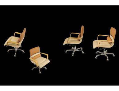 Итальянское кресло Herman direzionale фабрики IL LOF