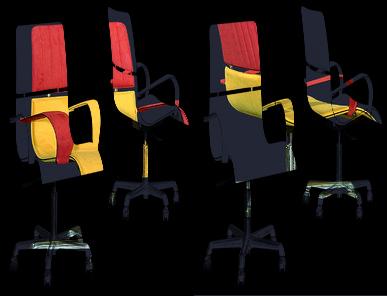 Итальянский стул Herman studio фабрики IL LOF