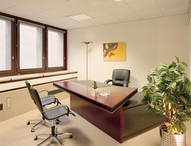 Итальянский письменный стол Ruthy scrivania lineare фабрики IL LOF