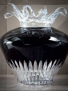 Итальянская ваза ARIEL фабрики GIORGIO COLLECTION