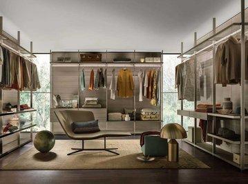 Итальянская гардеробная Hangar 1 фабрики Lema