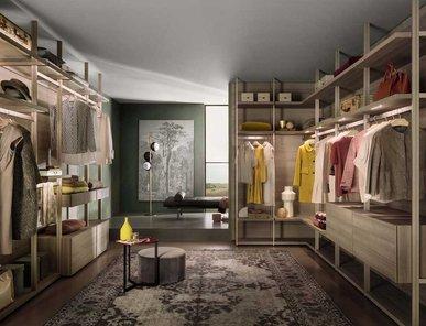 Итальянская гардеробная Hangar 2 фабрики Lema