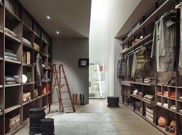 Итальянская гардеробная Hangar 3 фабрики Lema