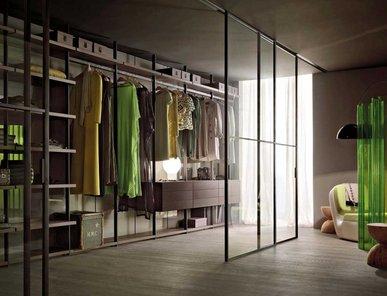 Итальянская гардеробная Hangar 4 фабрики Lema