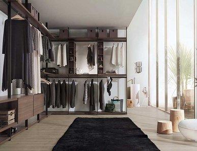 Итальянская гардеробная Hangar 5 фабрики Lema