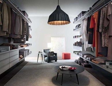 Итальянская гардеробная Novenove 1 фабрики Lema