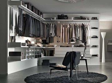 Итальянская гардеробная Novenove 3 фабрики Lema