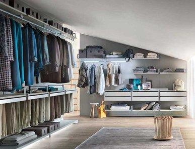 Итальянская гардеробная Novenove 5 фабрики Lema