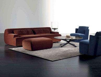 Итальянский диван NORTON 02 фабрики MERIDIANI
