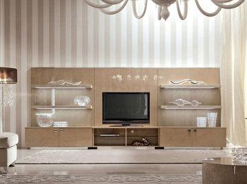 Итальянская мебель для ТВ SUNRISE фабрики GIORGIO COLLECTION