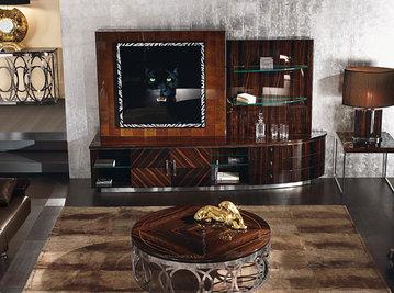 Итальянская мебель для ТВ LUNA фабрики GIORGIO COLLECTION